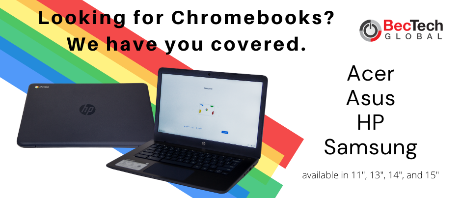 Beccela's now selling Chromebooks.