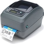 GX42-102510-000 - Zebra GX420t Direct Thermal/Thermal Transfer Printer - Monochrome - Desktop - Label Print - Used