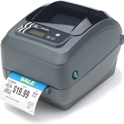 GX42-202510-000 - Zebra GX420d Direct Thermal Printer - Monochrome - Desktop - Label Print - Used