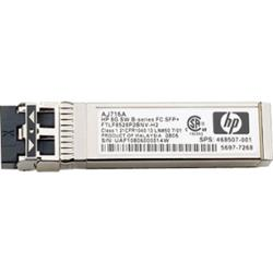HP 8Gb Shortwave B-series Fibre Channel SFP+ Transceiver